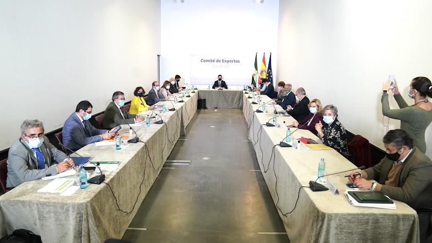 El comité de expertos se reúne este domingo.