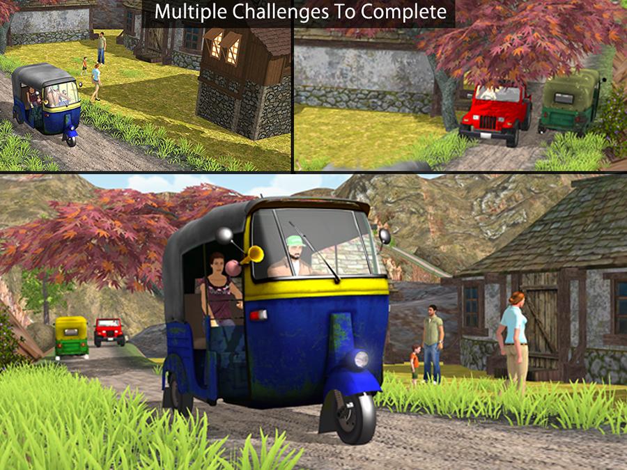Auto Rickshaw Games - Rickshaw Challenge
