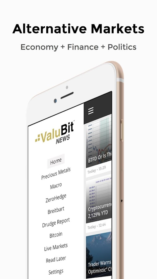 ValuBit - Alternative Finance- screenshot