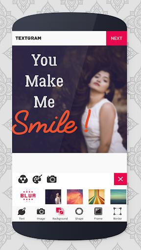 Textgram - write on photos hack tool