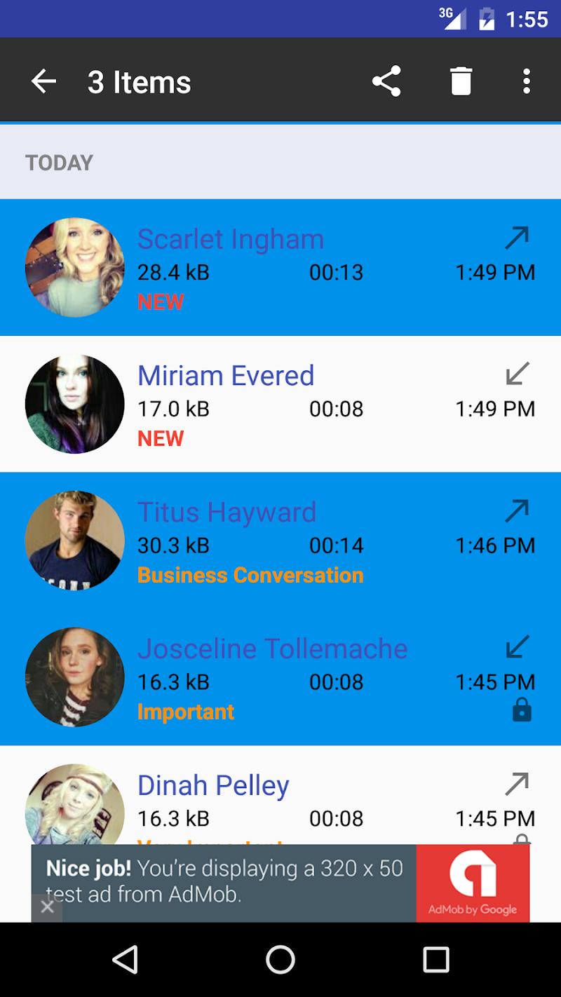 Digital Call Recorder 3 Screenshot 5