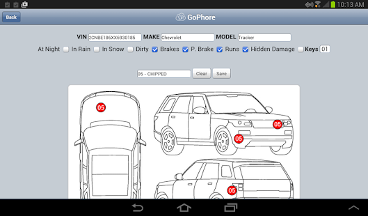 GoPhore Auto Carrier Software- screenshot thumbnail