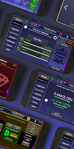 CryptoClickers: Crypto Idle Game 1.4 screenshots 1