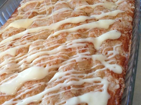 Overnight Eggnog Streusel Coffee Cake Recipe