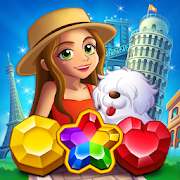 Jewel City : World Tour Match 3 Puzzle