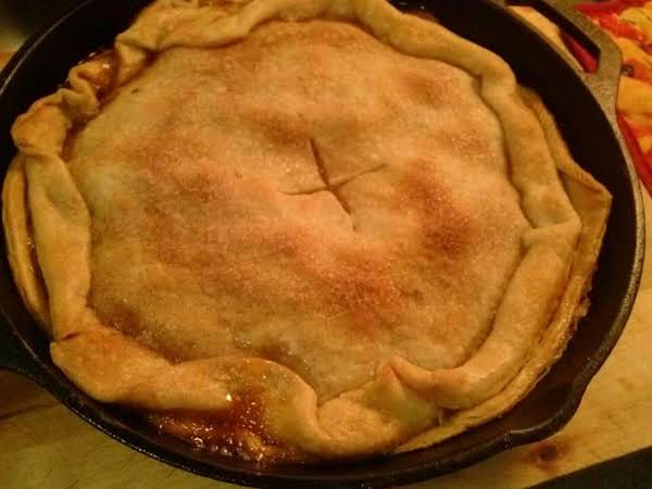 Skillet Apple Pie Recipe