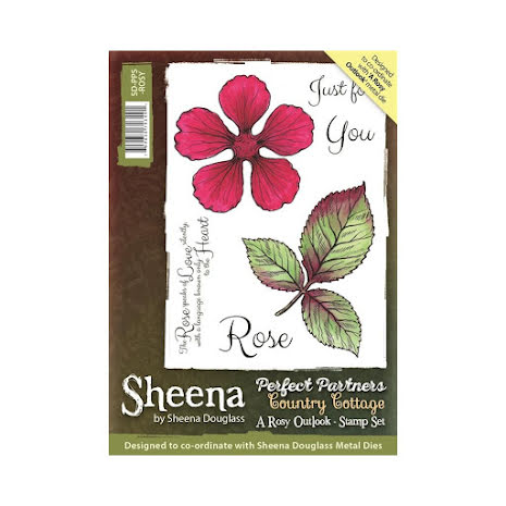 Sheena Douglass Country Cottage Stamp - A Rosy Outlook UTGÅENDE