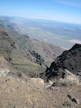 Photo: Looking down into Kigor Canyon.
