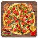 Pizza Burger Crush Game icon
