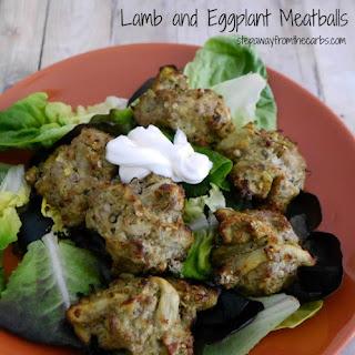 Lamb and Eggplant Meatballs