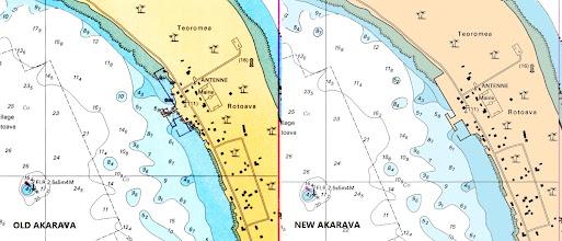 Photo: Arakava - French Polynesia and New Caledonia Raster Chart Update - http://www.maxsea.com/products/charts/list/oceania/raster/wide/mapmedia/french_polynesia_new_caledonia