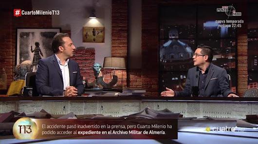 Cuarto Milenio vuelve a Almería: Iker Jiménez habla el domingo de una maldición