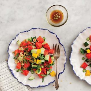 Cucumber Basil & Watermelon Salad