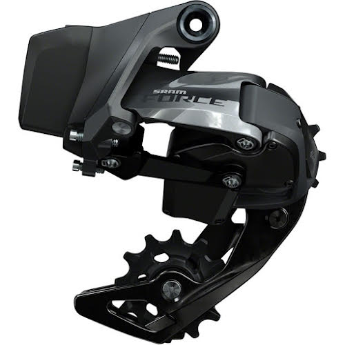 SRAM Force eTap AXS Rear Derailleur - 12-Speed, Short Cage, Gloss Black, D1