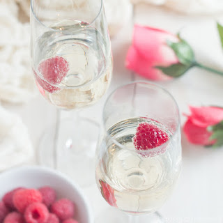 Champagne and Roses Cocktail.