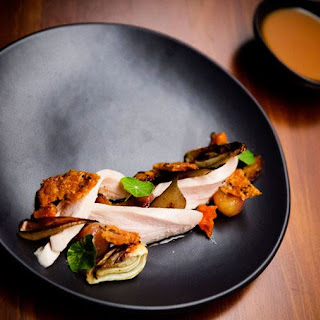 Apricot Chicken with Crispy Skin