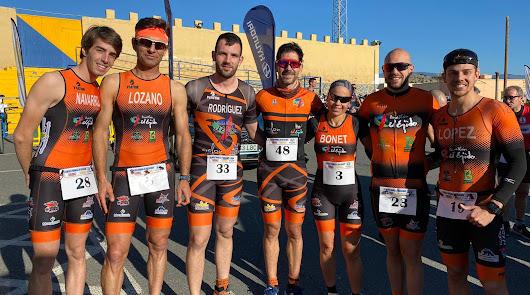 Cosecha de trofeos para el C.D. Triatlon El Ejido en Tabernas
