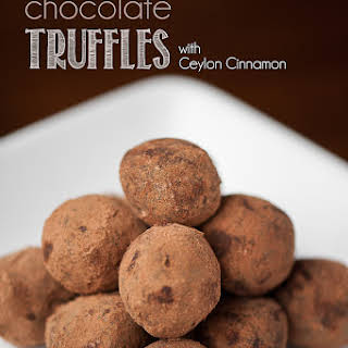 Mexican Chocolate Truffles.