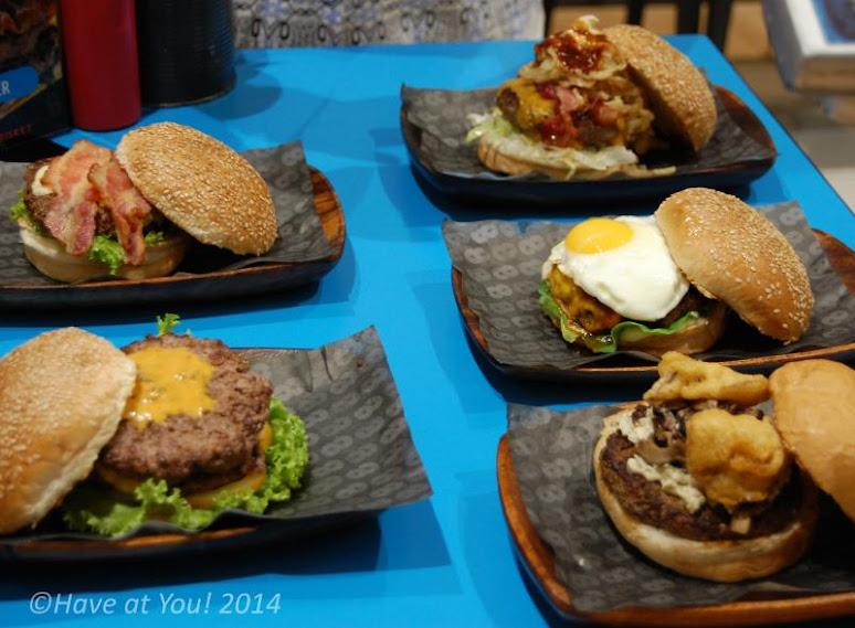 8 cuts burgers