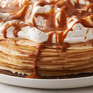 Dulce de Leche Crepe Cake.