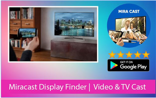 Miracast Screen Sharing | Video & TV Cast 1.03 screenshots 1