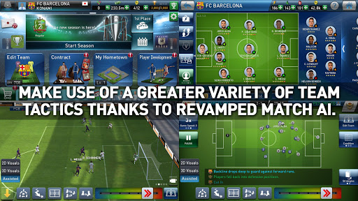 PES CLUB MANAGER 2.3.3 screenshots 2