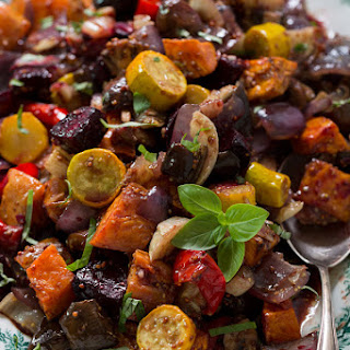 Roasted Veggies-Yum-O!