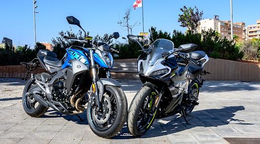 Ortiz Motos nos presenta dos modelos de CFMoto, la 400 NK y la 300 SR