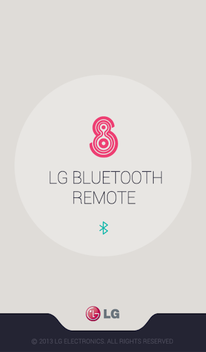 LG Bluetooth Remote screenshot 1