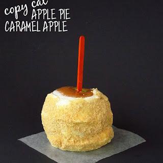 Copy-Cat Apple Pie Caramel Apple