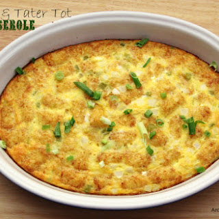 Tater Tot Casserole With Sausage Recipes.