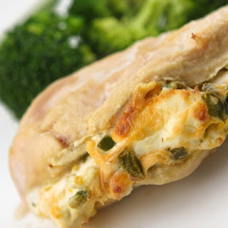 Jalapeño Cream Cheese Stuffed Chicken Breasts.