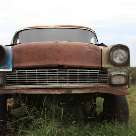 I've seen better days by Jody Czapla - Uncategorized All Uncategorized ( car, old, retro, transportation, antique, iron, abandoned,  )
