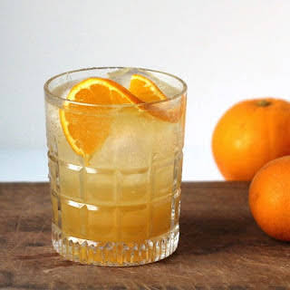 Bourbon, Ginger and Orange.