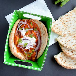 Butter Chicken Naan Tacos