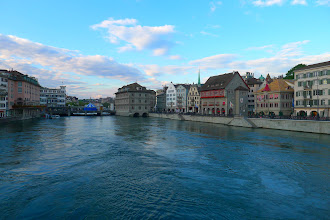 Photo: Zurich, old town and the Limmat