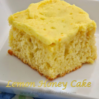 Lemon Honey Cake
