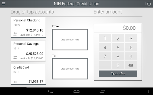 NIHFCU Mobile Banking- screenshot thumbnail