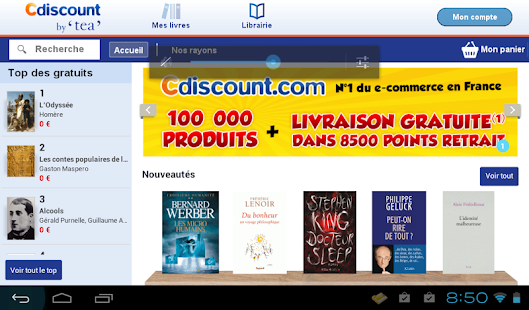 Cdiscount by TEA Capture d'écran
