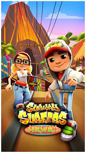Subway Surfers Hawaii - screenshot