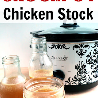 Crockpot Chicken Stock