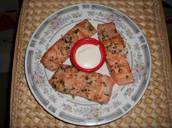 Grilled Salmon By Bates