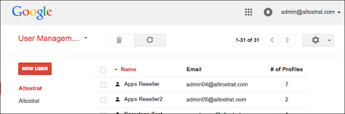 how to delete an email account on g suite