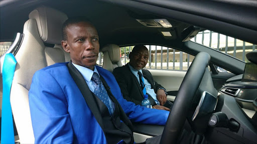 Pastor Mboro Gives Kenny Motsamai Cash For A Car Wash As He Walks Free