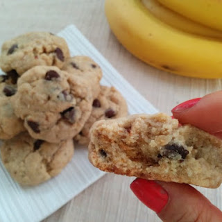 Banana Chocolate Chip Cookies (vegan)*