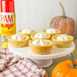 Muffin Tin Pumpkin Cheesecake