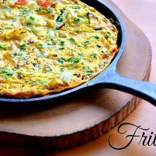 Indian spiced Frittata