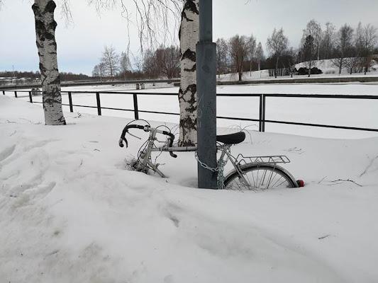 -40, Oulu (FIN) mai avuto così freddo.  di terazuc