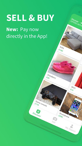 Shpock Boot Sale & Classifieds App. Buy & Sell Android App Screenshot