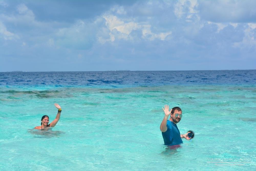 Explorar os BANCOS DE AREIA do Atol Malé Sul a partir de Maafushi | Maldivas